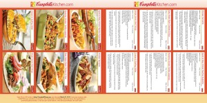 Campbell's Kitchen 2014 Calendar Reciipes
