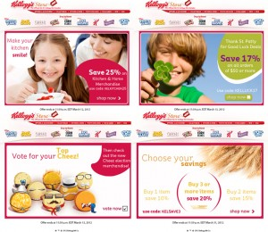Kellogg Store Email Marketing