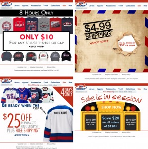USAH Hockey Email Marketing Campaign
